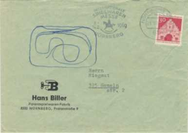 Biller envelope