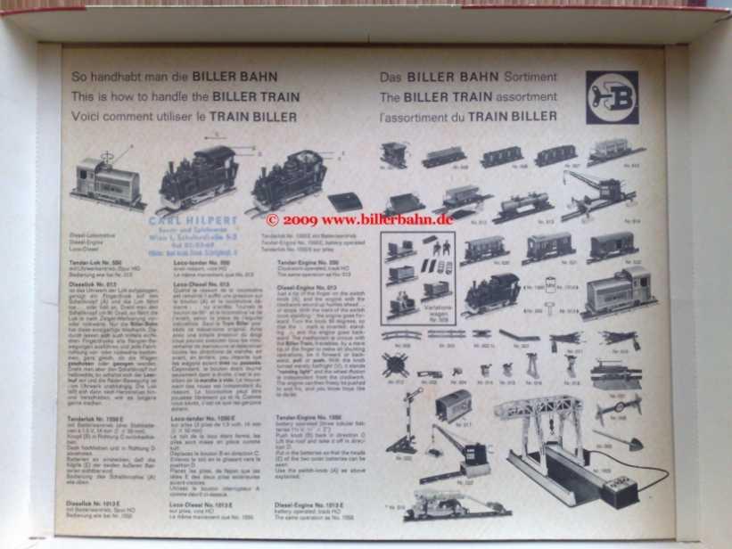 biller train sets 232. Black Bedroom Furniture Sets. Home Design Ideas